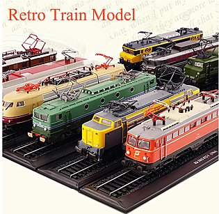 1:87 Retro Train Model Baureihe E 10 1266 (1962)Collection Decoration Train Toy