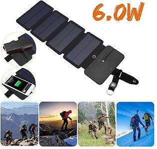Global collection---7.5W USB Foldable Solar Panel Phone Charger Portable External Battery Power Bank