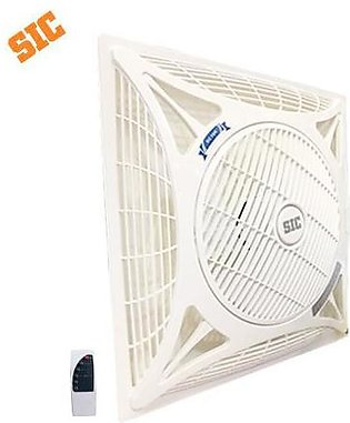 SIC False Ceiling Fan 2x2 14  with Remote Control