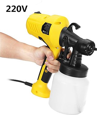 【To Global】220V 600W Electric Paint Sprayer Machine For Cars Home Wood Furnitur…