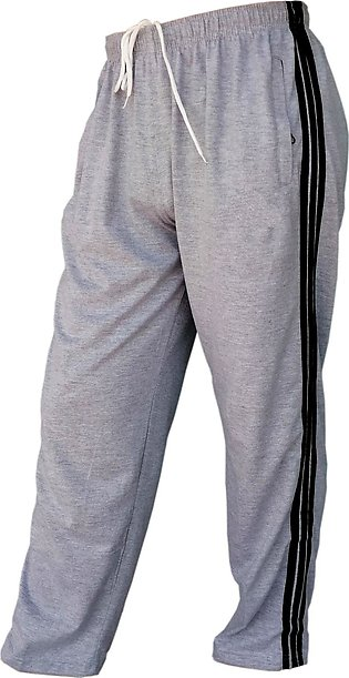 Side Stripped Men's Trousers regular men pajamas for night wear and sports trou…