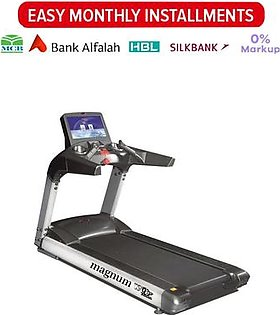 Magnum WNQ Commercial Treadmill With XL & HD LCD 8900A-TV