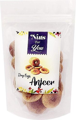 Natural Premium Dry Fruit Figs Anjeer  100Gm