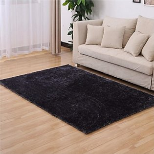 Honana WX-329 50x80cm Bedroom Living Room Soft Rug Shaggy Anti Slip Carpet Ab...