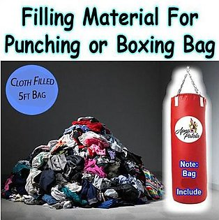 Cloth Filled 5ft Punching Bag Boxing Bag For Punching Boxing or Exercise