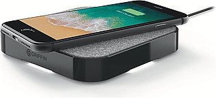 Griffin PowerBlock Qi Wireless Charger Charging Pad 15W for All Phones