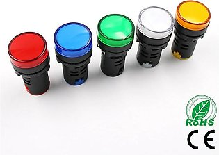 Pack of 5 pieces LED Panel Indicator pilot light