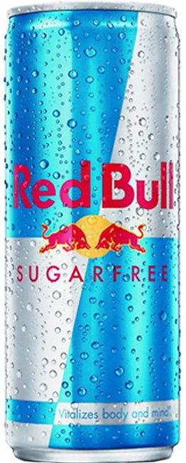 Red Bull Energy Drink 250ml Diet Sugar Free Can