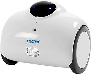 ESCAM QN02 Robot Inteligente 720P 1MP Wi-Fi Baby IP Camera (US Plugs)