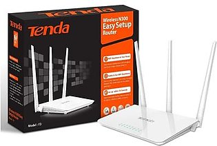 Tenda F3 300Mbps Wireless Router