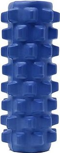 The old tree 5×13 inch Deluxe Foam Grid Sports Yoga Massage Roller Injury/Physio/Gym/Muscle Repai (Blue)
