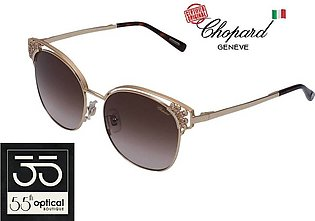 Chopard Sunglasses SCHC24 0349 Diamontes Titanium 23K Rose Gold Plated Gradient…
