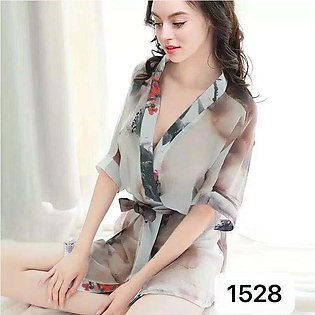 Nighty New Style Short LadiesGown Night Suit And Casual Dress