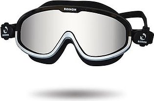 Topsky Adult Swim Goggle Large Frame Adjustable Swimming Goggles with UV Protection Leak-proof and Anti-fog
