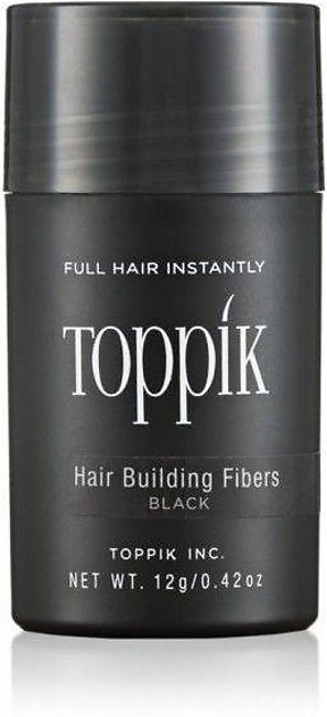 Toppik 12g Black - Made in CHINA- New 2019 Packaging