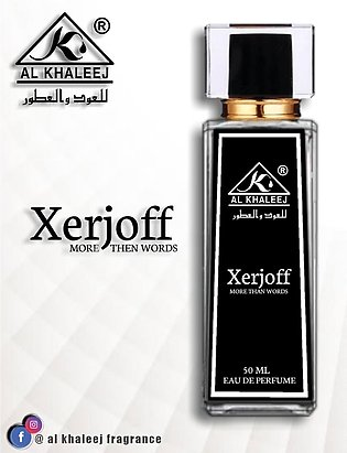 XERJOFF MORE THAN WORDS By Al Khaleej Perfume