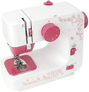 Sewing Machine, Mini Household Hand-held Tailor Electric Sewing Machine with 12 Stitches Electric Handheld Quilting Embroidery Overlock Quick Sewing M