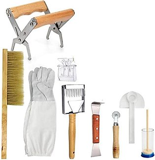 Beekeeping Honey Tool Kit Beekeeping Starter Kit Set of 9 Beekeeping Equipment …