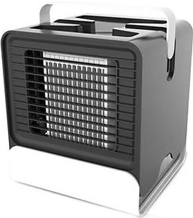 Topsky evaCHILL New Personal Evaporative Air Cooler and Humidifier/Portable Air Conditioner and Fan, Opaque White