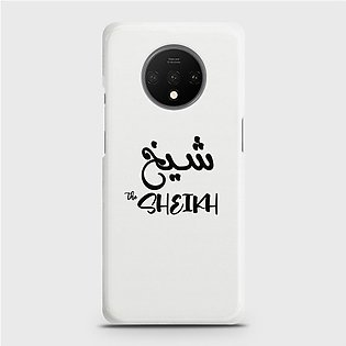 Oneplus 7t Cover - Skinlee Hq Hard Case - Caste Name Sheikh Customized Cover - …