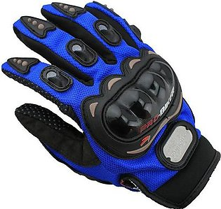 Outdoor Sports full finger knight riding motorbike Motorcycle Gloves 3D Breathable Mesh Fabric men Leather Locomotive Glove