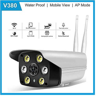 V380 IP WiFi Outdoor Whaterproof Surveillance Full HD 1080p Camera - Whaterproo…