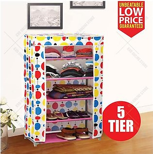 Shoe Rack & Wardrobe - 5 Layers