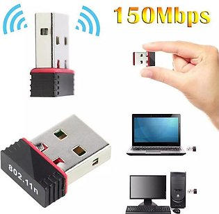 Alfa USB Wifi Adapter 300Mpbs - Strong Signal Quality - Network Sharing Device