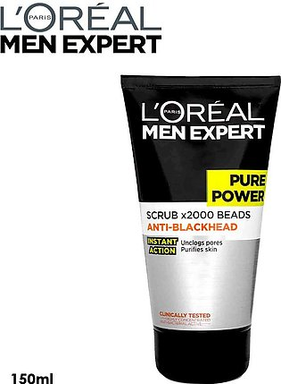 L'Oreal Men Expert Pure Power Face Wash 150ml