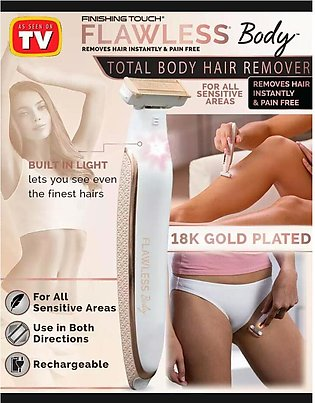 Rechargeable Flawless Electric Lady Shaver Razor Flawless Body Hair Shaver Pain…