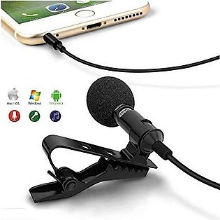 Microphone Mic for iOS Android Cell Phone Laptop Tablet Recording