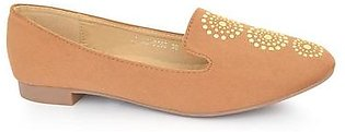 Hush Puppies - SS-MS-0068 - Camel Closed Casual for Women