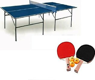 Foldable Table Tennis With Net, Bats & Rackets Butterfly Style Table Tennis
