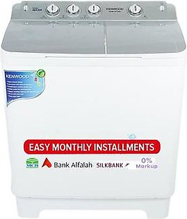 Kenwood Semi Automatic Washing Machine - KWM-1012 - White