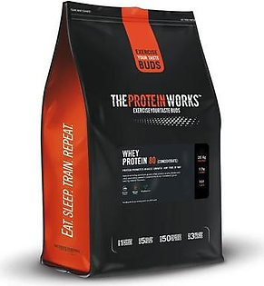 The Protein Works Whey Protein 80 - 2 kg (4.4 lbs) - Vanilla Creme