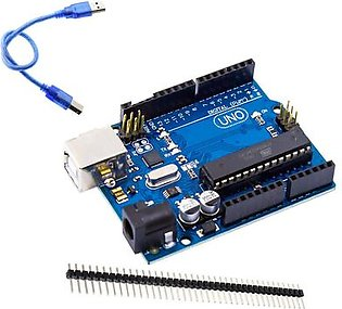 Arduino Uno R3 With Cable + 10 Pins