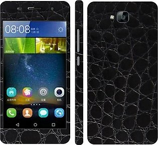 Huawei Honor Play 5X  Black Crocodile Leather Texture Mobile Skin