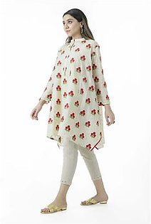 EGO Fall Collection 2019 Many Trees Fawn Cotton Kurti For Women