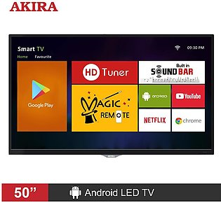 AKIRA MS502 50 inch Android Full HD LED TV with Built-in Satellite Receiver &...