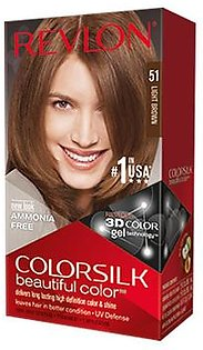 Revlon Color Silk Beautiful Color No.51 Light Brown Made in Italy