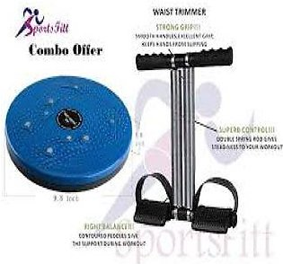 Pack of 2 tummy Trimmer Twister Disc & Tummy Trimmer Double