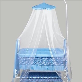 Smartness Pro Royal Swing Cradle with Mosquito Net Printed Baby swing