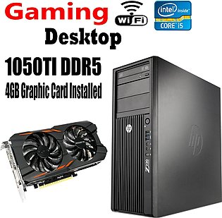 HP Desktop Z220 Tower - Intel Core i5 3470 3.2 GHz  3rd Generation Gaming PC ...