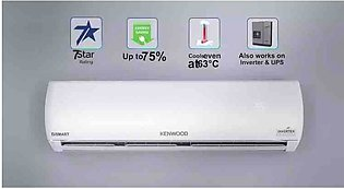 Kenwood E smart Dc inverter 1.5 Ton 1838 plus 5D T3 Compressor Wifi enabled 75%…