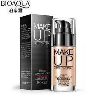 BIOAQUA Brand Makeup Base Face Liquid Foundation BB Cream Concealer Whitening Moisturizer Oil-control Waterproof Maquiagem 30ml