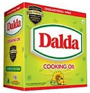 Dalda Cooking Oil 1x5kg Pillow Pouch