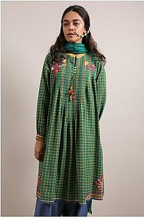Generation-Stitched 2 - Piece Pre Fall Collection Polski 2-Pc Yarn dyed stripes/checks Traditional-C29187T-Green