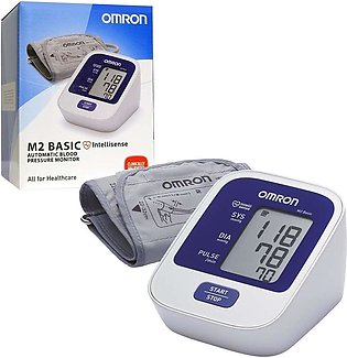 OMRON M2 Basic Blood Pressure Monitor JAPAN Brand with 3 Years Warranty