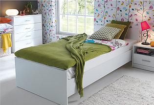 """Revival Simple Single Bed - 78""""x42"""" (Without Mattress)"""