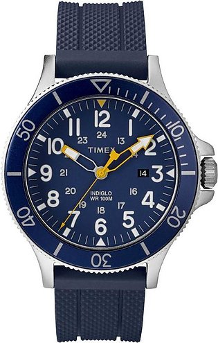Timex Allied Blue Dial Analog Watch for Men-TW2R60700